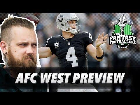 Fantasy Football 2017 - Fantasy Trade Troubles + AFC West Breakdown - Ep. #406