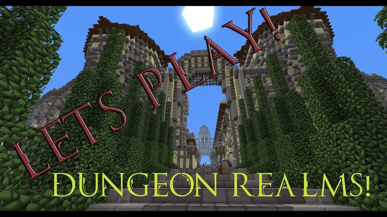 lets play dungeon realms revolutionary minecraft mmorpg server