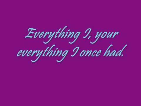 The Honorary Title- Everything I Once Had lyrics