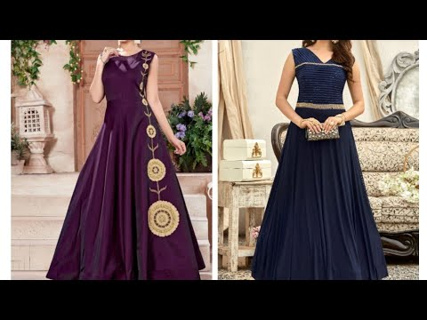 Latest Party Wear Gown Collections 2020 Stylish Gown Dress Designs One Piece Dress Designs Youtube