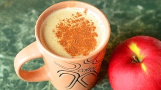 Apple Tea Latte with Cinnamon and Spicy Apple Coffee Latte  Two recipes in one