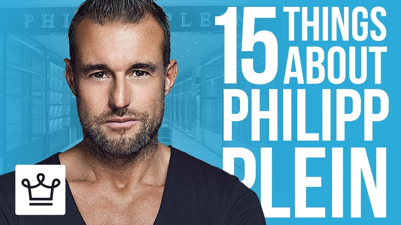 15 Things You Didn T Know About Philipp Plein Youtube
