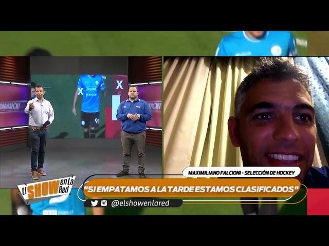 Hockey   Maximiliano Falcioni desde Rosario en El Show En La Red 15 10 2021