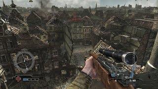 Снайпер США в Тяжелом Городском Бою ! В Игре про Войну Medal of Honor Airborne