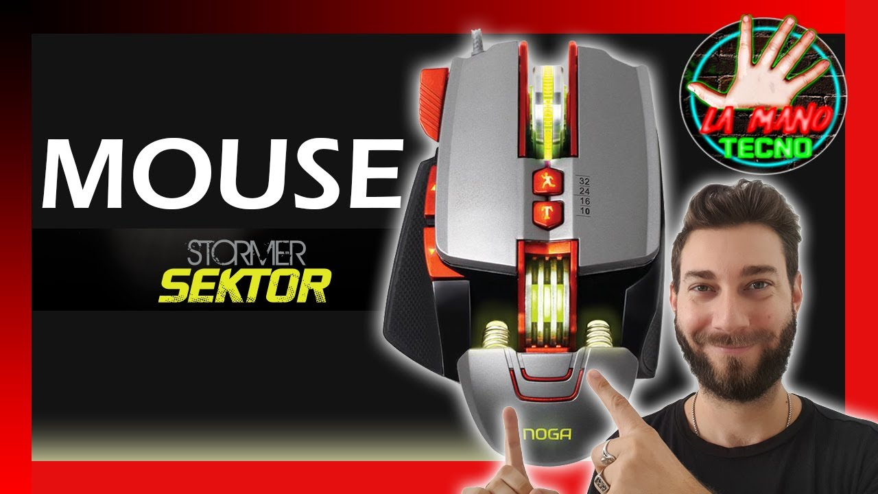 👉 El mejor Mouse GAMER de NOGA? 3200 DPI | UNBOXING y ANALISIS 2020