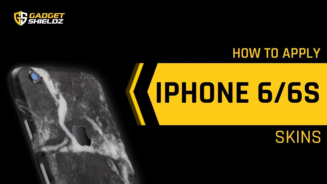 timeless design e7285 09817 How to apply Skinnova iPhone 6s / 6 skins