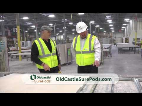 Oldcastle SurePods factory tour with Brian Gurry on American Builder