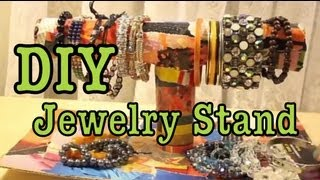 Diy: Jewelry Stand Display!