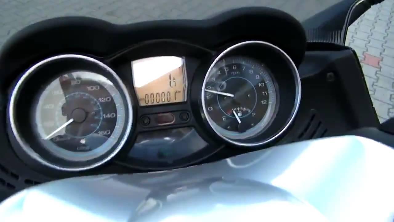 hc anleitung - piaggio xevo 125 2010 roller blau midnight 222/a
