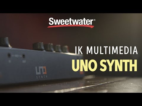 IK Multimedia Uno Synth Analog Synthesizer Review Mp3