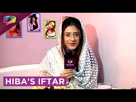 Hiba Nawab's Iftaari With India Forums|Exclusive