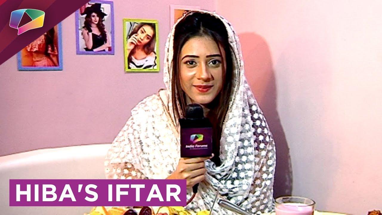 Hiba Nawab's Iftaari With India Forums Exclusive