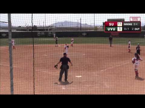 NCAA Softball: Seattle U at Utah Valley University