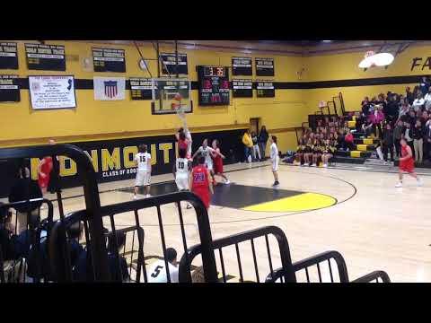 Wall Boys Basketball (59) At Monmouth Regional (41), 12/15/17