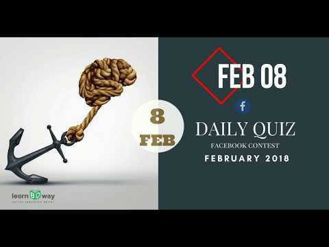 Learn BD Way Daily Quiz FB Contest February 2018 Winners