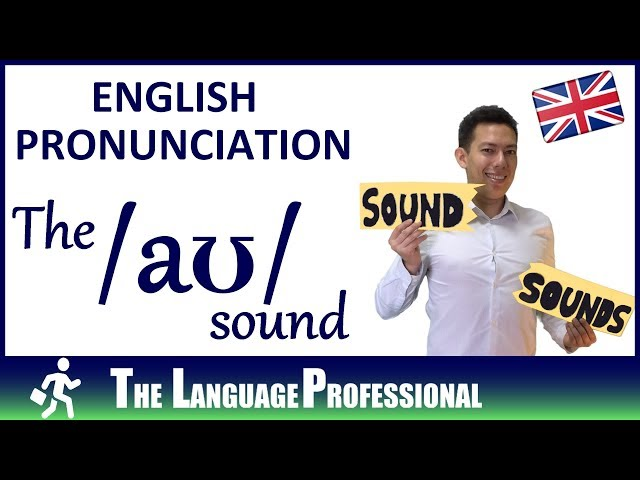 English Pronunciation | How to pronounce the /aʊ/ sound