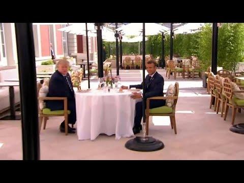 Проблемы саммита G7 в Биаррице
