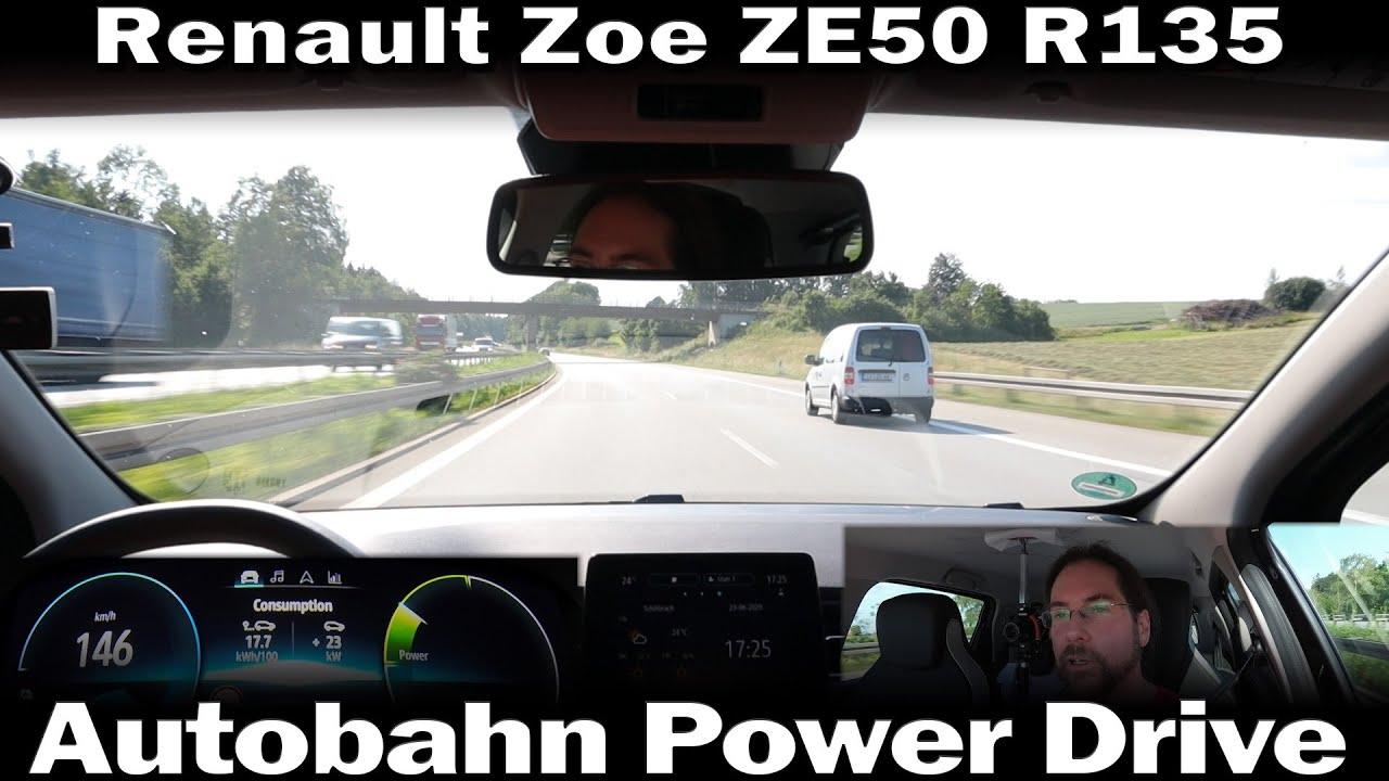 Renault Zoe ZE50 R135 - Autobahn Power Drive