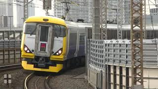 E257系特急わかしお 新木場駅通過