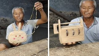 Handcraft skill , 12 beautiful item make from wood and bamboo
