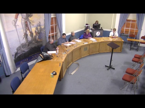 City of Plattsburgh, NY Meeting  1-22-18
