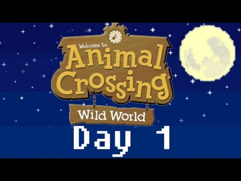 365 Days of Animal Crossing: Wild World -Day 1- Welcome To Astaria