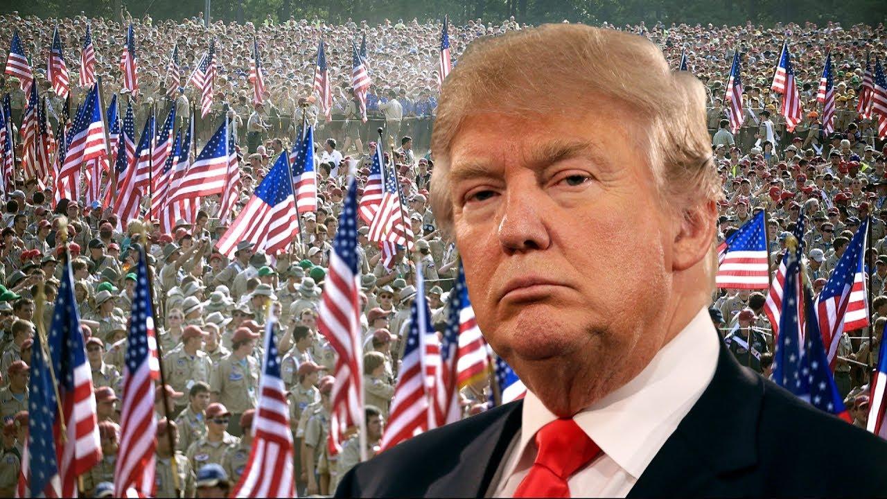 Donald Trump's political jamboree