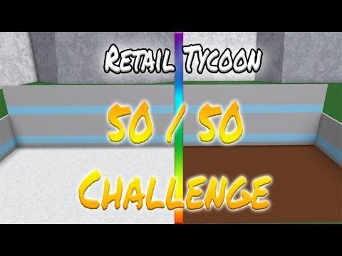 [Roblox: Retail Tycoon] NEW 50/50 CHALLENGE WITH WYATT