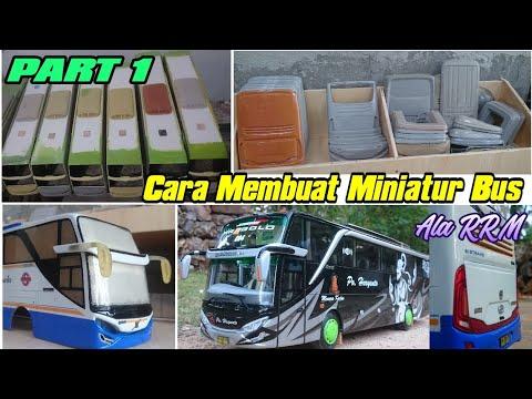 TUTORIAL CARA MEMBUAT MINIATUR BUS JETBUS 2 HDD ADIPUTRO ...