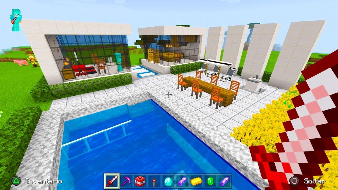 Aqui no hay quien viva 541 🏊 Casa moderna de lujo con gran piscina 🏚️