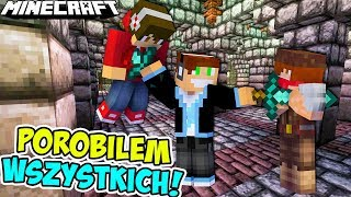 MURDER MYSTERY DOUBLE UP - POROBIŁEM ICH! /w BoBiX & Mateof | Minecraft Vertez