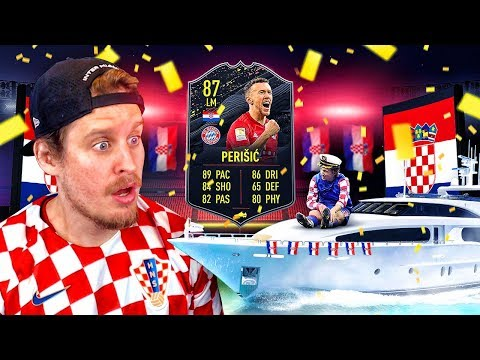 THE BEST STORYLINE CARD?! 87 STORYLINE PERISIC PLAYER REVIEW! FIFA 20 Ultimate Team