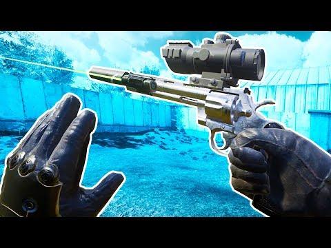 Crafting the Ultimate Gun in VR! - Zero Caliber VR Gameplay - VR HTC Vive