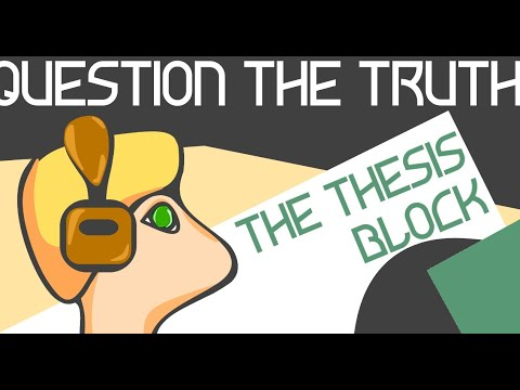 The Thesis Block [Part 4] - This is| the Weather Connection [English]