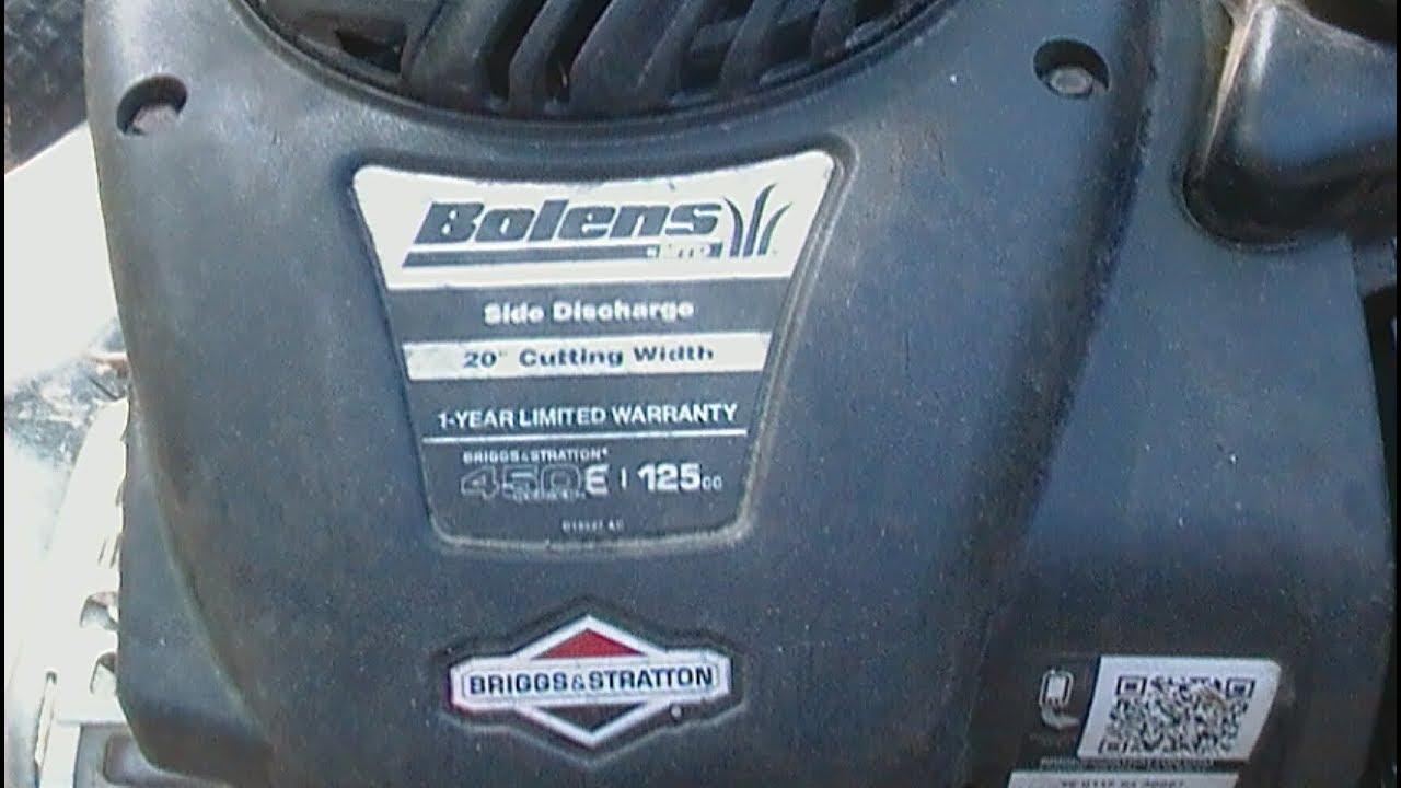 fixing a no start plastic carburetor lawnmower best instructions on youtube [ 1280 x 720 Pixel ]