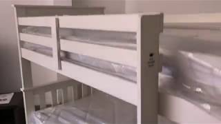 Atlantis White Pine Bunk Beds
