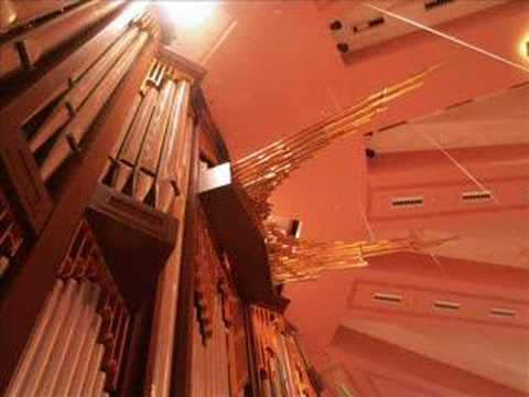Calvary Church Pipe Organ - Trumpet Voluntary