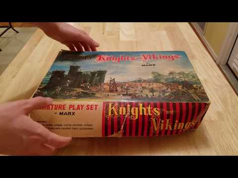 ASMR | Antique Knights and Vikings Play Set