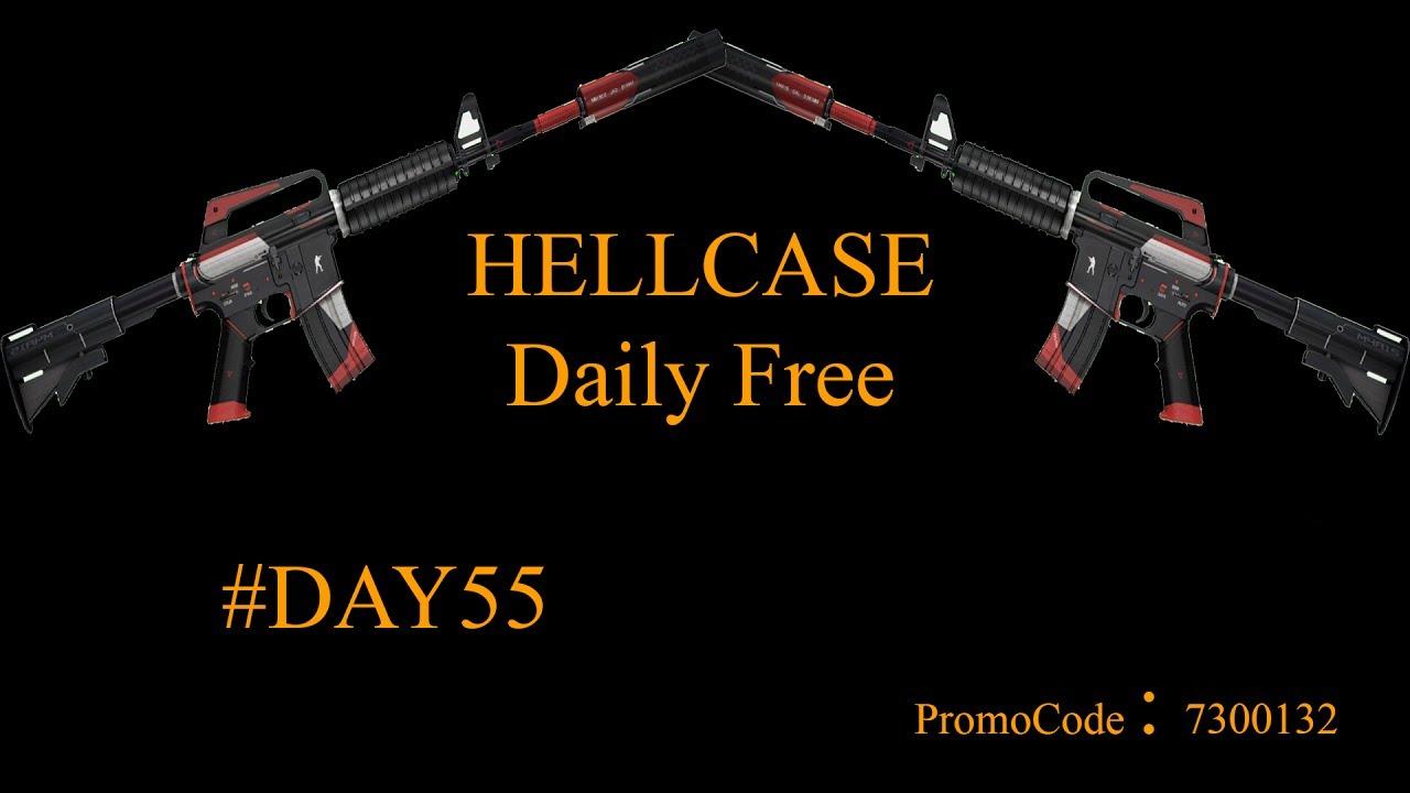 hellcase daily free