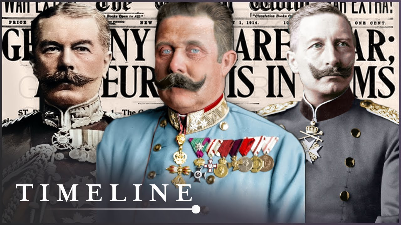 WW1: The State Of Play In 1914   The Great War In Numbers   Timeline