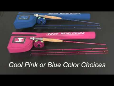Ross Journey Youth Fly Rod Outfits