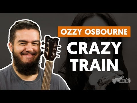 Crazy Train - Ozzy Osbourne (aula de guitarra)
