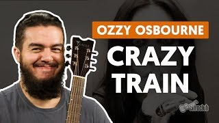 Crazy Train - Ozzy Osbourne (aula de guitarra)