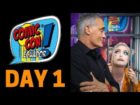 ComicCon Ecuador Day 1 ft. John Wesley Shipp