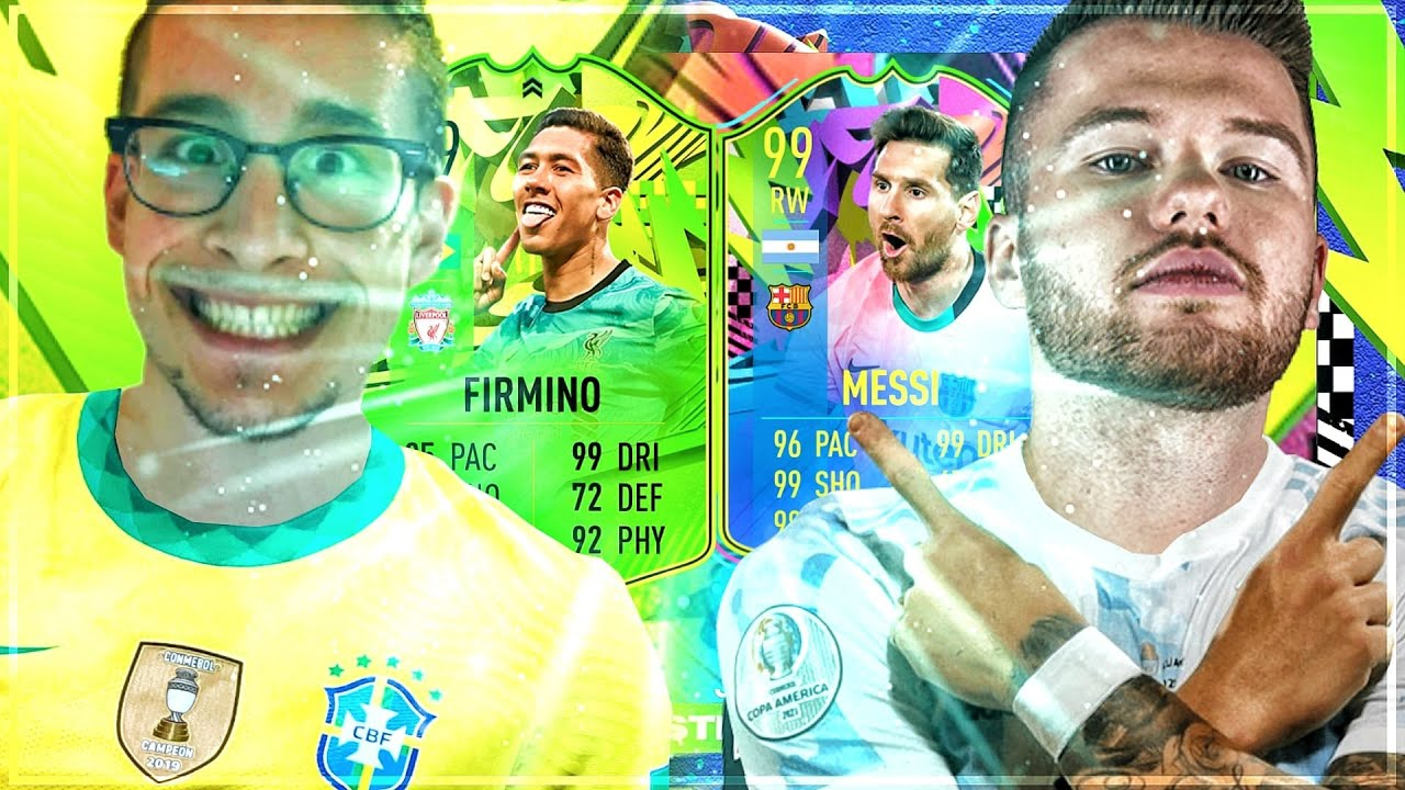 "WTF😱 FIRMINO PTG vs MESSI SUMMER STARS ""SQUAD BUILDER BATTLE"" gegen PROOWNEZ🔥 FIFA 21"