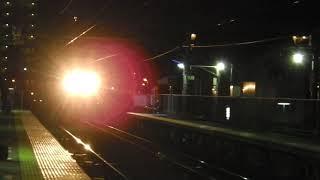 早朝(冬季)の新白岡駅を通過するEF65+コキ thumbnail