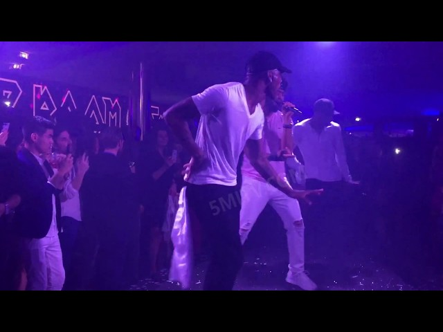 Jussie Smollett CANNES VIP ROOM SPECIAL PERFORMANCE