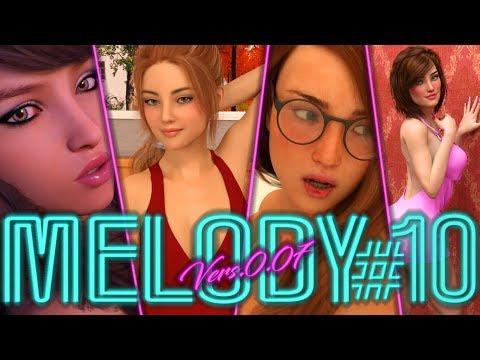 Melody(MrDots)v.0.07 Part.10-Latest Melody Update-[18+]