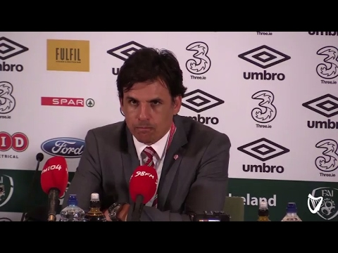 VIDEO: 'He wants to appeal the yellow card' - Chris Coleman responds to Didi Hamann 'cowardly' tweet