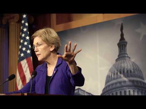 Senator Elizabeth Warren's Press Conference on CFPB and Richard Cordray